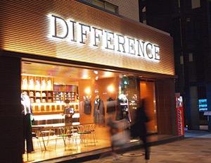 DIFFERENCE Aoyama Store
