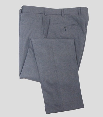 Gray trousers by Brooks Brothers