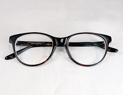 Brown glasses by Zoff