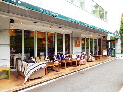 BONDI CAFÉ Yoyogi Beach Park