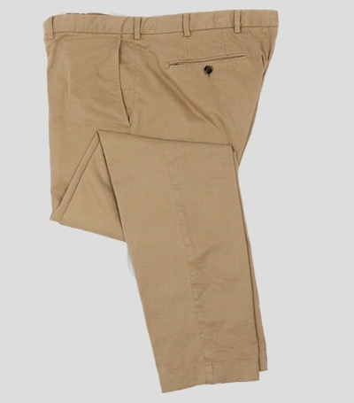 Beige chinos by Brooks Brothers