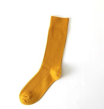 Yellow socks by Tabio