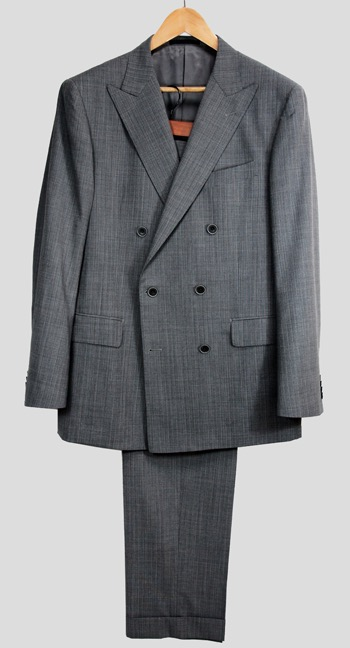 Double-breasted suit by GlobalStyle
