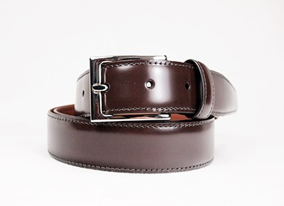 Brown belt by Brooks Brothers