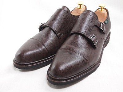 Double monk shoes by Paraboot