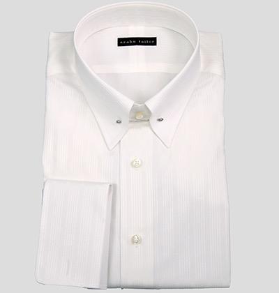White shirt by Azabu Tailor