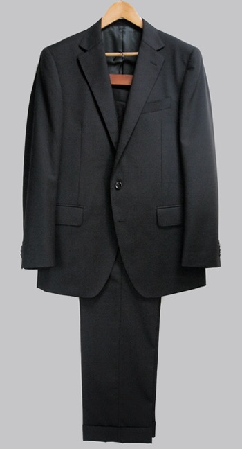 Black suit trousers by GlobalStyle