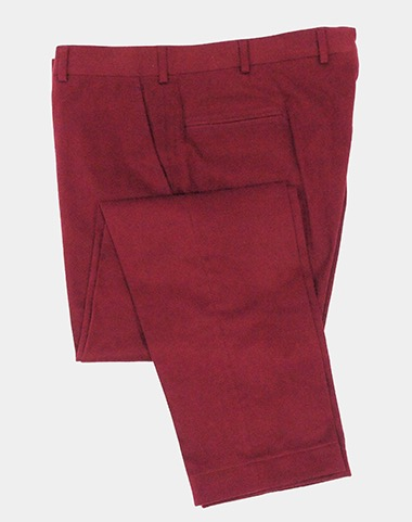 Red chinos by Brooks Brothers