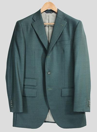Green jacket by Azabu Tailor
